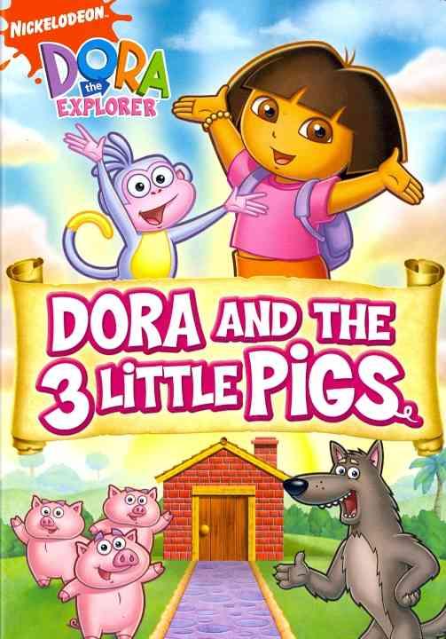 DORA THE EXPLORER:DORA AND THE THREE BY DORA THE EXPLORER (DVD)